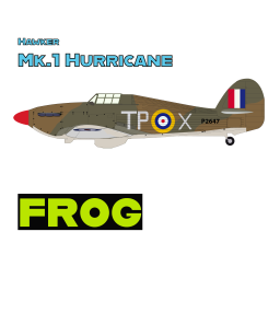 Hawker Mk.1 Hurrican t-shirt with FROG
