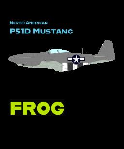 North American P51D Mustang