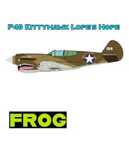 P40 US Desert Camo Lopes Hope For T-Shirt With FROG 2