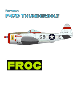 Republic P47D Thunderbolt With FROG