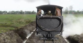 steam light train