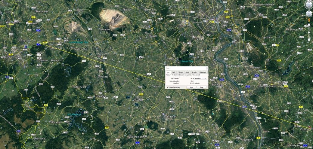Achen to Asbach 90km