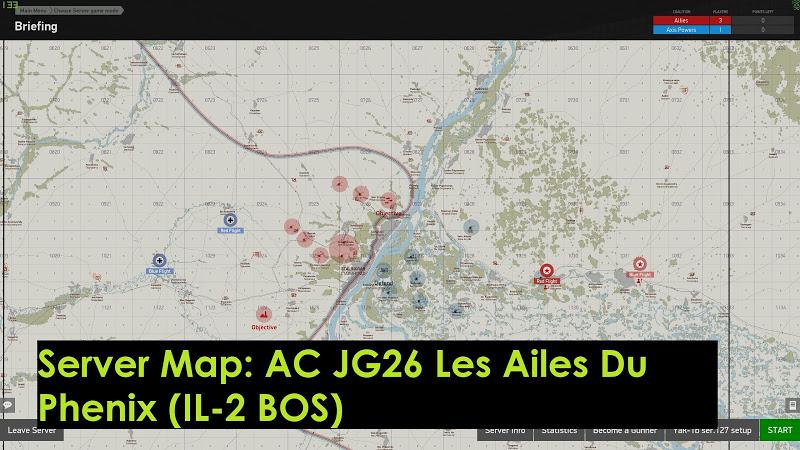 Server test flyAC JG26 Les Ailes Du Phenix
